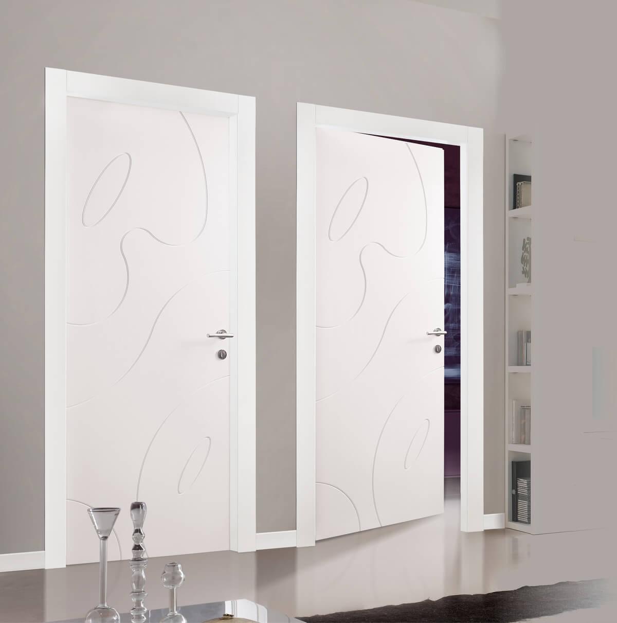 Verniciare Porte Interne Bianche porte laccate - cura e manutenzione, scelta delle finiture